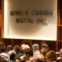 Ciminelli Recital hall