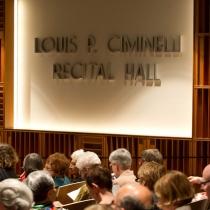 Ciminelli Recital hall