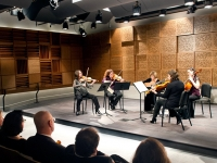Musicians perform at Ciminelli Recital Hall