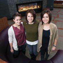 Sarah, Hannah, and Rebecca Twardowski