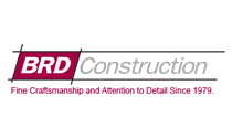 BRD Construction logo